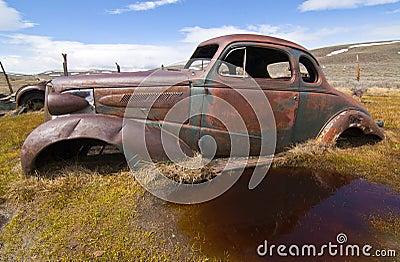 Rusted Antique Car