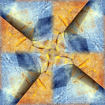 Rusted Background Pattern
