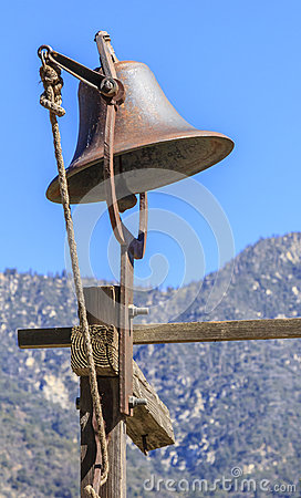 Rusted bell