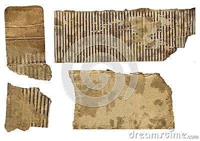Rusted cardboard