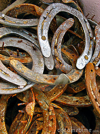 Free Rusted Horseshoes Stock Photos - 3559633