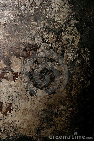 Rusted metal textured background
