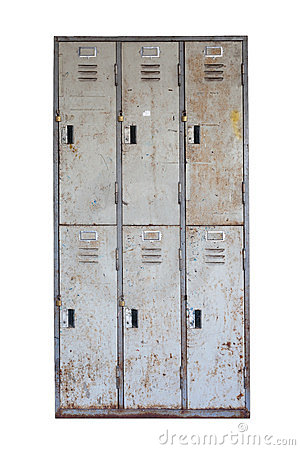 Free Rusted Old Cabinet Royalty Free Stock Photo - 24154645