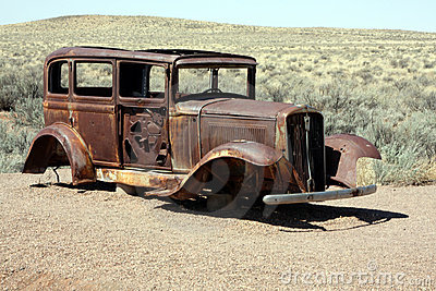 rusted out car royalty free stock image image 7780326