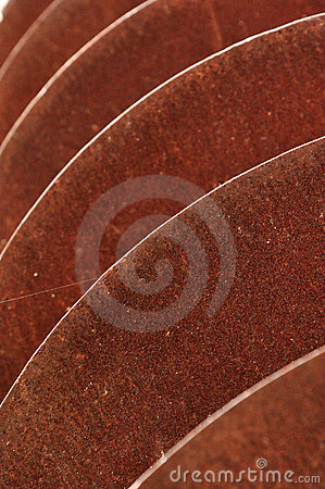 Rusted sharp disks