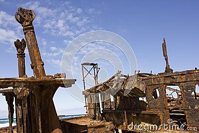 Rusted Shipwreck