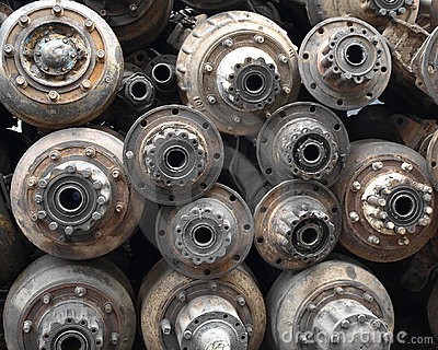 Rusted Vehicle Parts