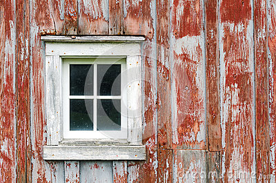 Rustic Barn Siding And Window Background Image Stock