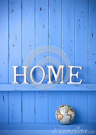 Home World Background Decor