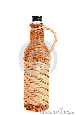 Rustic bottle