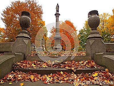 Rustic cemetery