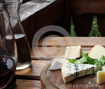 Rustic Cheese and Wine
