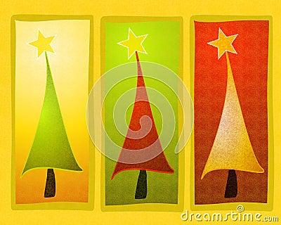 Rustic Christmas Tree Clip Art