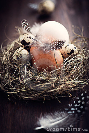 Rustic Easter Nest