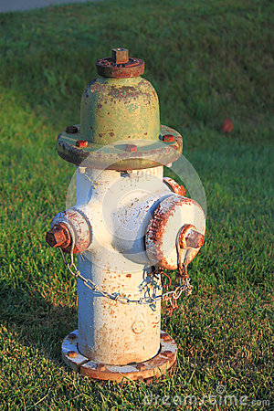 Rustic Fire Hydrant