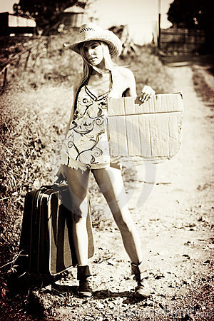 Rustic Hitchhiker