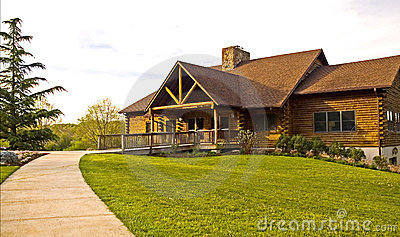 Rustic Log Cabin - 2
