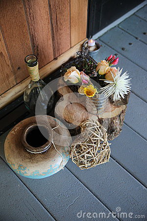 Rustic natural still life