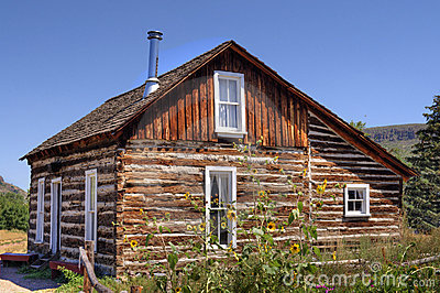 Rustic Old Time Log Cabin ii