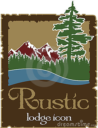 Free Rustic Outdoors Logo With Copy Space Stock Images - 17553674
