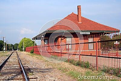Rustic Railroad Station