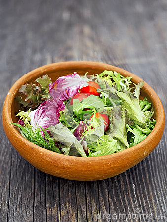 Free Rustic Salad Greens Stock Images - 48520234