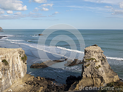 Rustic Surk at Maori Bay, New Zealand