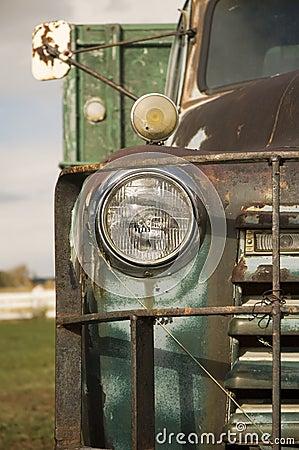 Rustic truck 1
