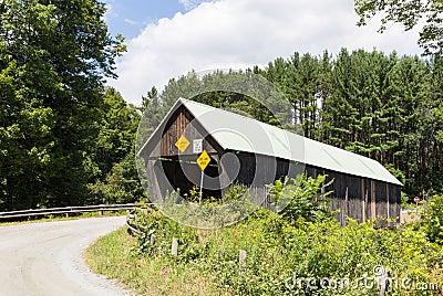 Rustic Vermont Covered Bridge