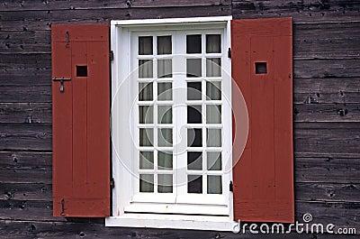 Rustic Window - Fortress Louisbourg
