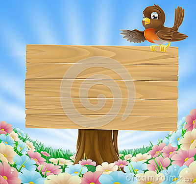 Free Rustic Woodland Sign Stock Photo - 25809490