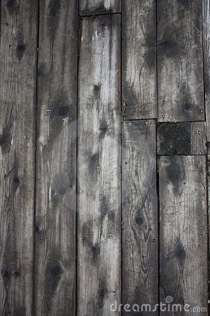 Rustic, worn and grey board background