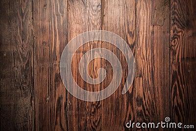 Draufsicht des rustikalen Holzverkleidungshintergrundes.