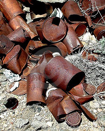 Free Rusting Cans Stock Photos - 5113