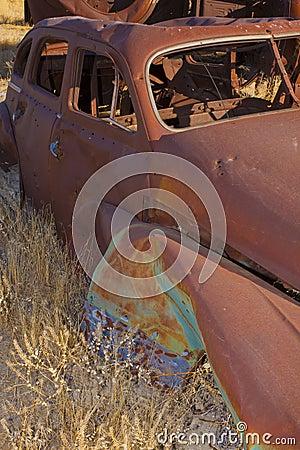 Free Rusting Classic Car Stock Image - 22905641