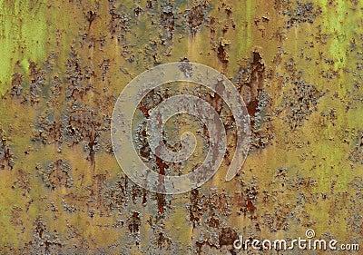 Rusting metal grunge texture