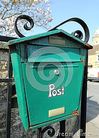 A Rusting Post Box
