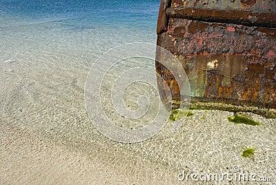 Rusting Tugboat