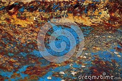 Rusty Abstract Stock Photo