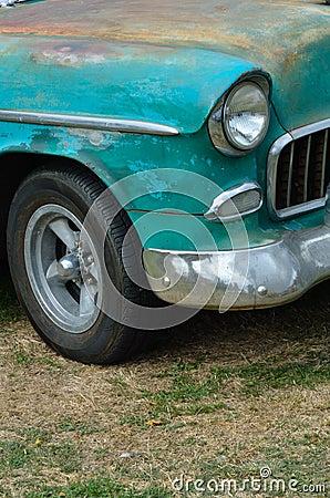 Rusty  american classic car