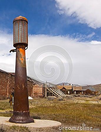 Rusty Antique Gas Pump