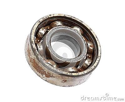 Rusty ball bearing
