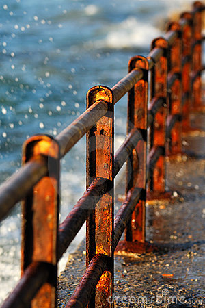 Rusty barriers