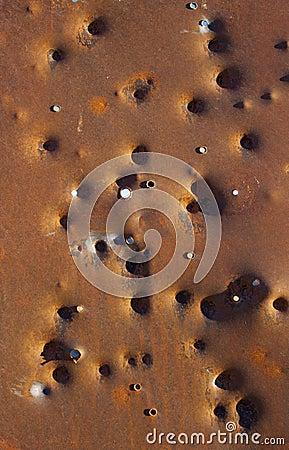 Rusty Bullet Holes