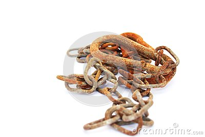 Rusty Nut And Bolt Royalty Free Stock Image -