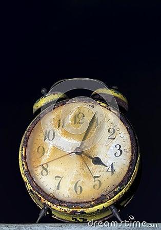 Free Rusty Clock Stock Image - 9196171