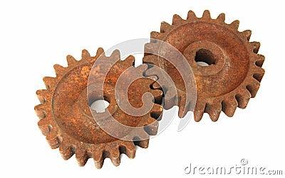 Rusty cogs