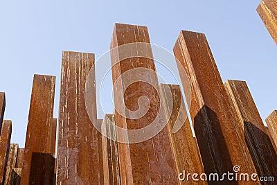Rusty columns