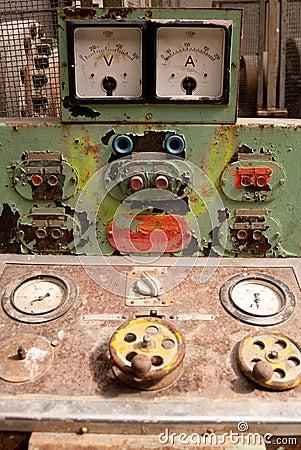 Rusty Control Panel