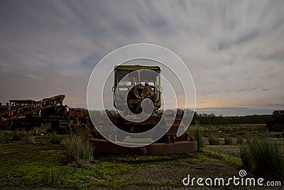 Rusty digger
